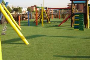 grama sintetica decorativa playground