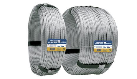 cabos de aço