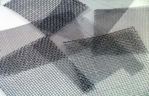 diferentes tipos de telas metálicas