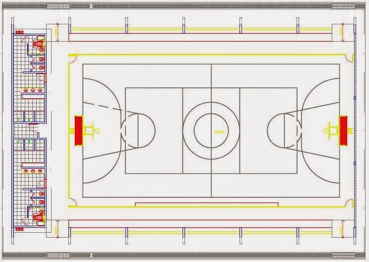 b079ebc1c9d0f7 Dicas para construção da quadra poliesportiva | Pantelas